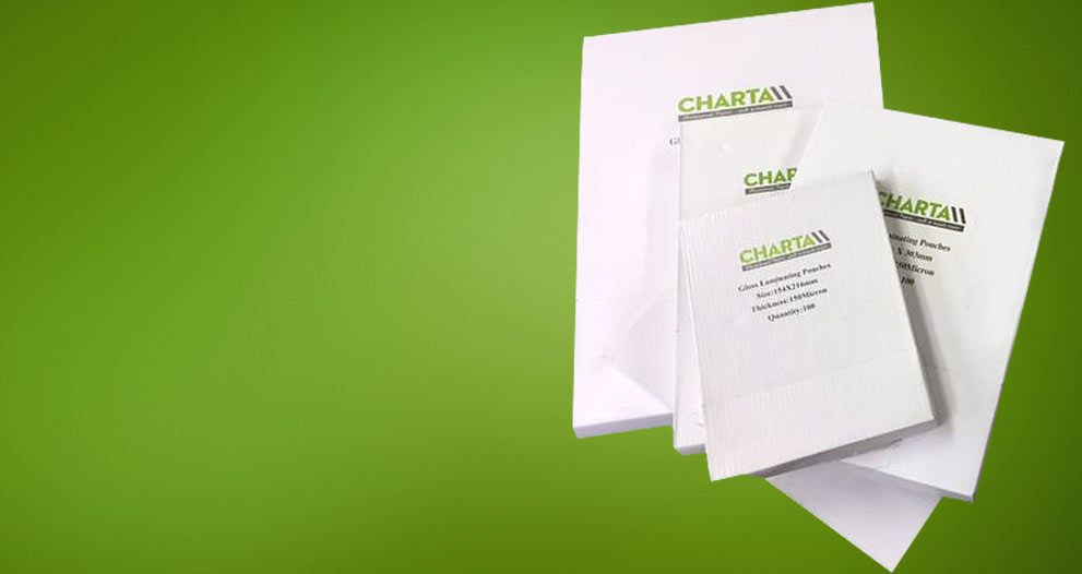 Charta Laminating pouches